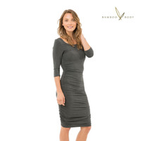 Women's Softline 3/4 Bamboo Sleeve Dress