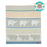 Weegoamigo Knitted Bamboo Baby Blanket - Nellie