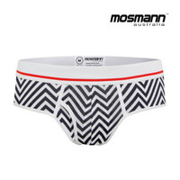 "Men's ""All Day Cool & Dry"" Bamboo Boxer Briefs - Patriot"