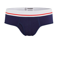 "Men's ""All Day Cool & Dry"" Bamboo Boxer Briefs - Blue Knights"