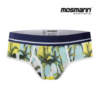 "Men's ""All Day Cool & Dry"" Bamboo Boxer Briefs - St. Tropez"