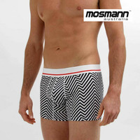"Men's ""All Day Cool & Dry"" Bamboo Boxer Trunks - Patriot"