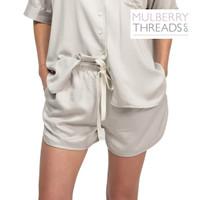 Harper Summer Sleepwear Shorts - Silver