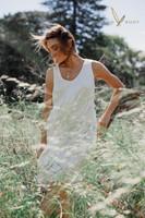 Tilly Bamboo Smock Dress - Ivory