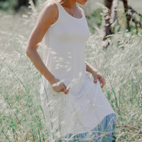 Florence Bamboo Dress - Ivory