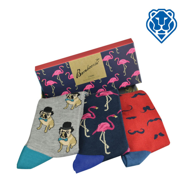 Quirky Gift Set - Bamboo Socks in a Box