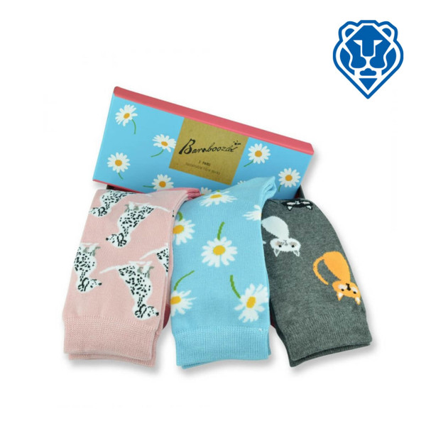 Cats and Dogs Socks - Bamboo Socks in a Box