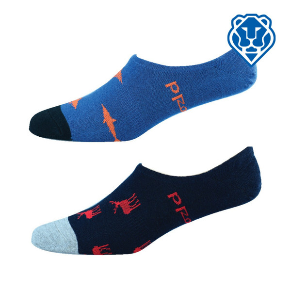 Men's 'Bamboozld' Footlet Socks - Animal Designs