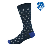 """Bamboozld"" Business Socks - Anchor Away"