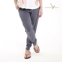 Women's Bamboo Slouch Pants - Grey
