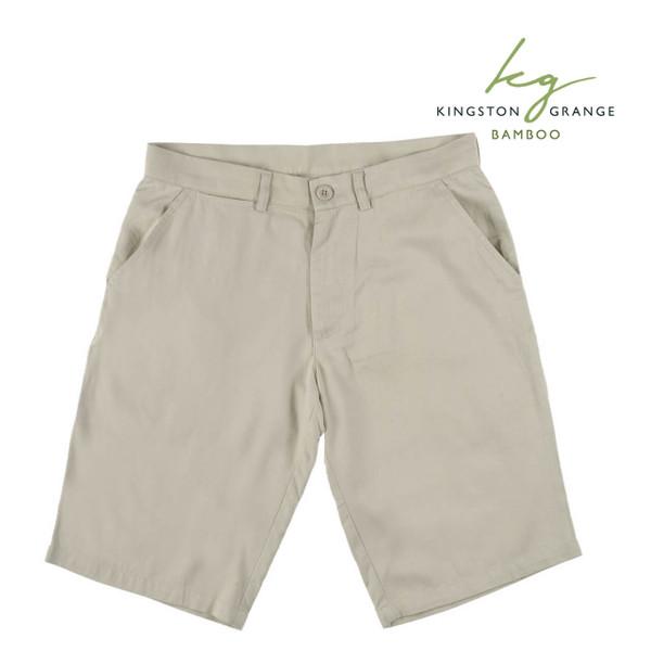 Men's Bamboo Casual Shorts - Bone