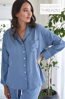 Harper Long Sleeve Shirt - Chambray