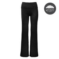 Women's Bamboo Lounge Pants by Witjuti - Black