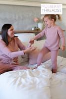 Mini Melissa Sleepwear Set - Rose