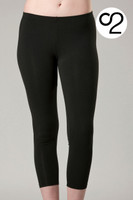 3/4 Length Bamboo Leggings by O2Wear
