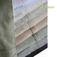 Bamboo Twill Pillowcases by Bambusa - Colour Swatch