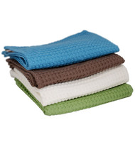 Bamboo Tea Towels 'In the Buff' by Full Circle - Bamboo Kitchen Towels - stacked