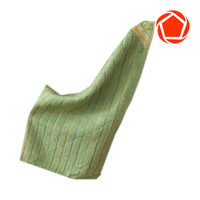 Magnetic Bamboo Kitchen Towel - Green
