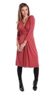 Sara Bamboo Dress - Marsala
