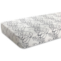Bamboo Cot Sheets - Leafy (Moonlight)