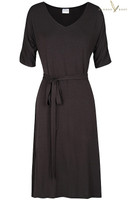 Women's Bamboo Gemma Dress - Black