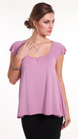 Women's Bamboo Michelle Top - Lavender