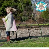 Weegoamigo Knitted Bamboo Baby Blanket - Ruby Stripe