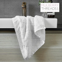 Bamboo Hand Towel by Mulberry Thread - White