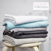 Bamboo Towels by Mulberry Threads Co.