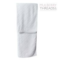 Bamboo Bath Towel by Mulberry Threads - White