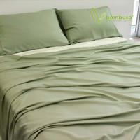 Bamboo Twill Sheet Set by Bambusa - Green Tea