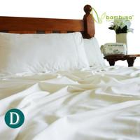 Bamboo Twill Sheet Set by Bambusa - White