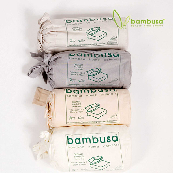 Bamboo Fitted Sheet by Bambusa - Colour Swatch