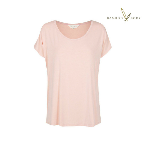 Eadie Bamboo PJ Top - Blush