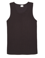 Men's Bamboo Singlet - Black