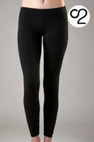 Full Length Bamboo Leggings (Extra Long)