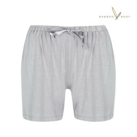 Relax Bamboo PJ Shorts - Soft Grey