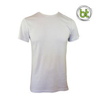 Men's Bamboo T-shirt (Without Pocket) - White
