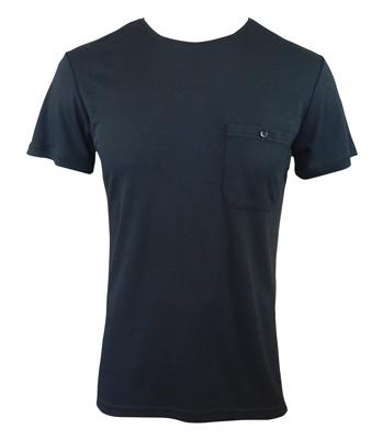 Men's Bamboo T-shirt (With Pocket) - Black