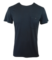 Men's Bamboo T-shirt (With Pocket) - Black