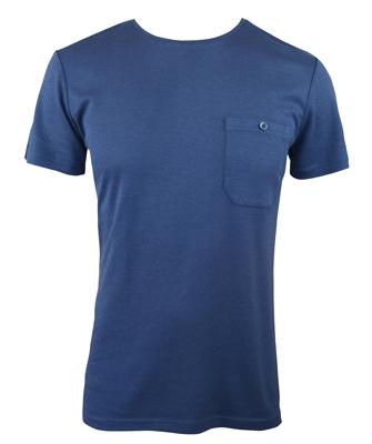 Men's Bamboo T-shirt (With Pocket) - Navy