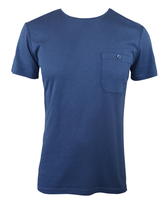 Men's Bamboo T-shirt (With Pocket) - Navy