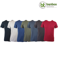 Men's Bamboo T-shirt (With Pocket)