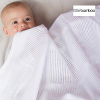 Little Bamboo Airflow Cellular Blanket - Cot