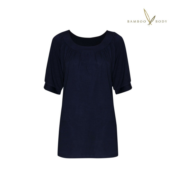 Bamboo Lucy Top - Navy