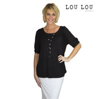 Bamboo Lucy Top - Black
