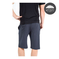 Men's Lightweight Bamboo Shorts by Witjuti - Charcoal