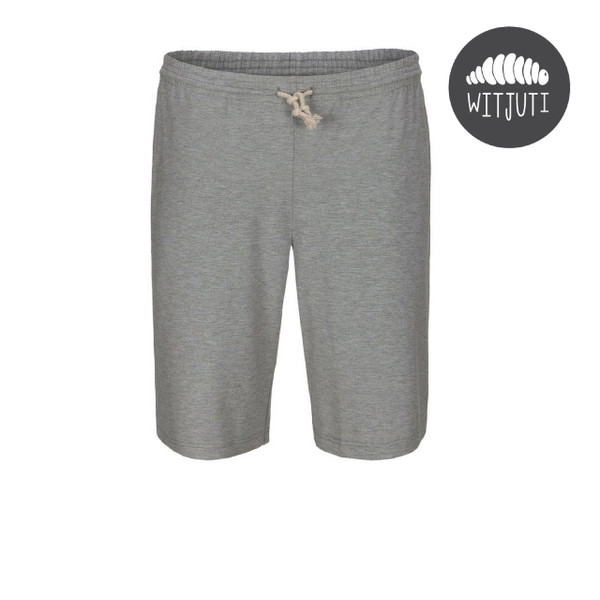 Men's Lightweight Bamboo Shorts by Witjuti - Grey Marle