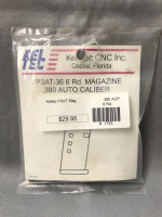 Kel-Tec P3AT Magazine .380acp 6rd