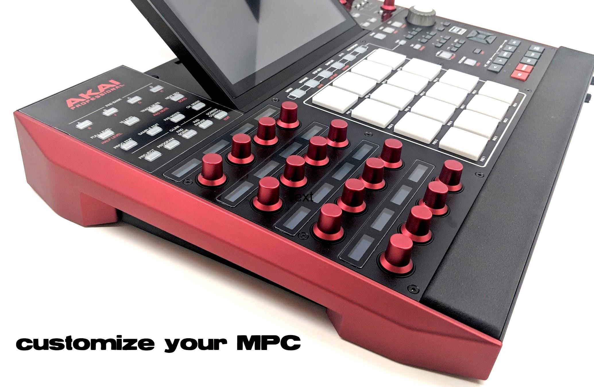 MPCstuff | Custom Akai MPC Sampler Parts and Accessories